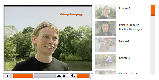 Video on the web, web optimised video, video streaming server for Canny Co website