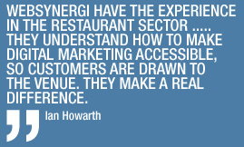 Quote from Ian Howarth
