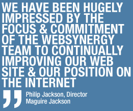 Quote from Philip Jackson - Maguire Jackson