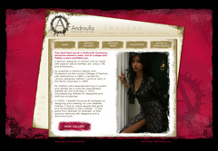 Web design for Androullas