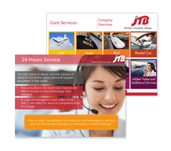 JTB PowerPoint Presentation Design