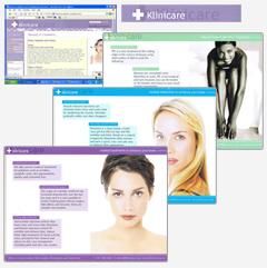 Corporate Branding, Print Design and Medical Web Design for Klinicare
