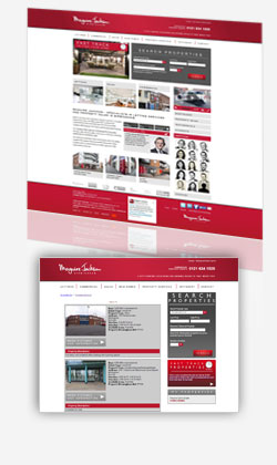 Maguire Jackson Estate Agents website design