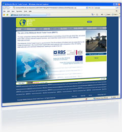 Midlands World Trade Forum Website