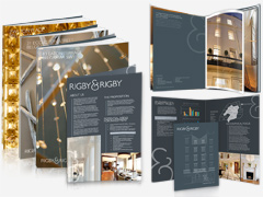 Single Page A5 Leaflet and A4 Property Brochure Designs
