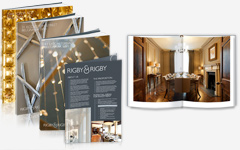 Luxury Property Brochure Designs, High End Property Brochure Designs