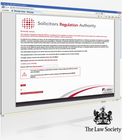 The Law Society - Online Questionnaire Web Application Development