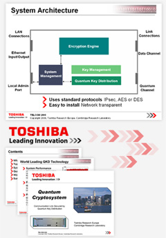 PowerPoint sales presentation for Tohsiba