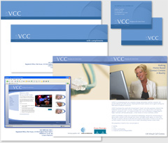Corporate identity and logo design UKVCC